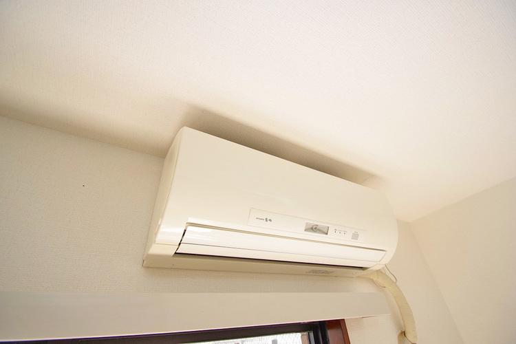各居室にエアコン付き