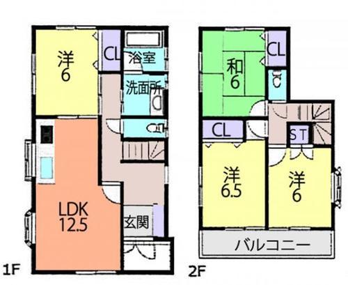 柏市篠籠田 中古住宅の物件画像