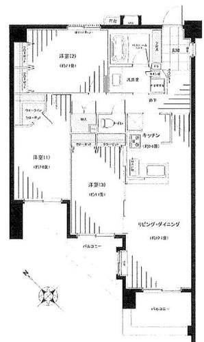 ランドシティ横濱山手参番館の物件画像