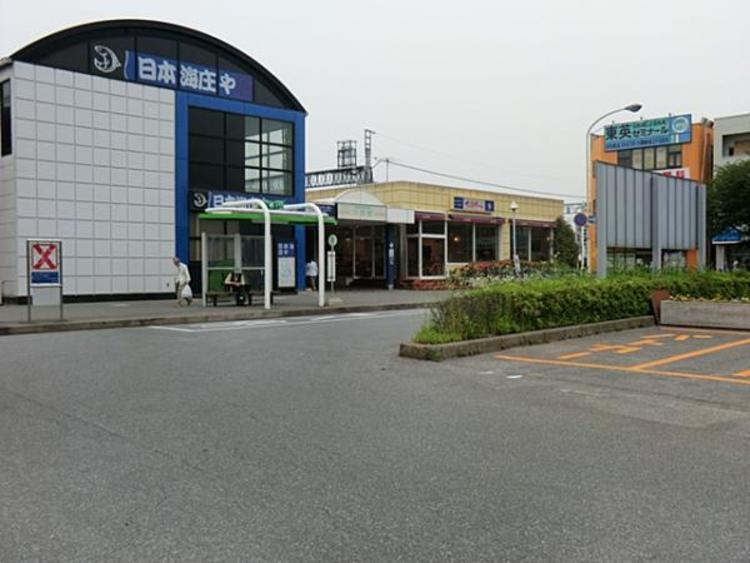 東武鉄道川間駅1040m