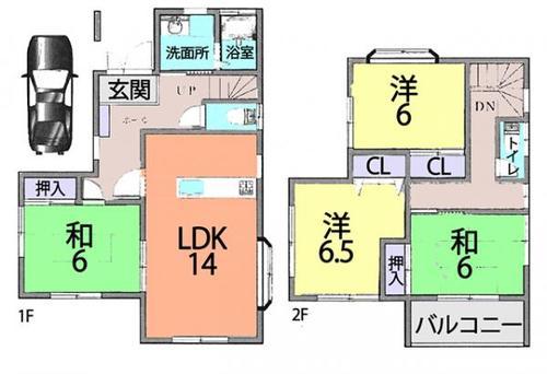 春日部市本田町 中古住宅の画像