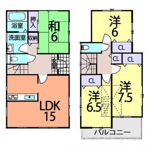 春日部市西金野井 中古住宅の画像