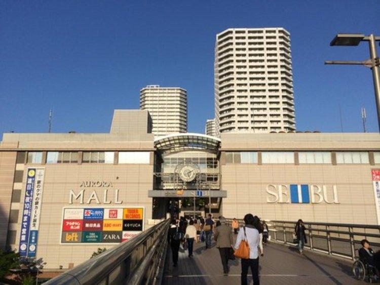 オーロラモール東戸塚まで648m