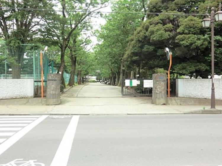 柏市立柏中学校1100m