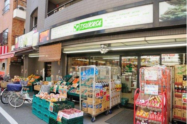 TSUKASA学芸大学店まで420m。お客様が楽しく安全にお買物ができるよう、また、品質・鮮度・価格でご満足していただけるよう、従業員一同、日夜努力しているスーパー。
