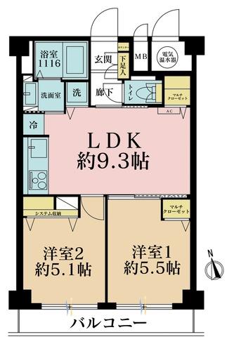 ライオンズマンション東大井の物件画像