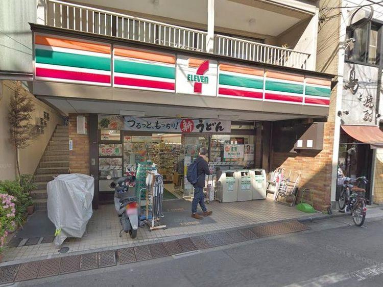セブンイレブン千駄ヶ谷店 徒歩1分 50m