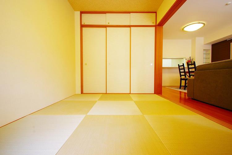 和室約6.0帖収納スペース
