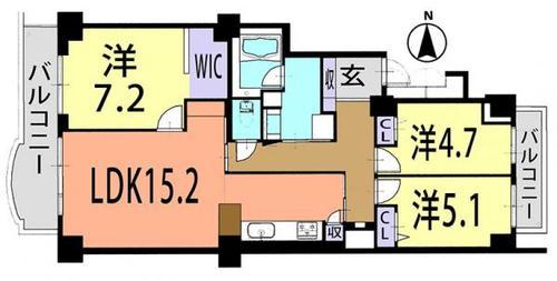 清新南ハイツ18号棟の画像