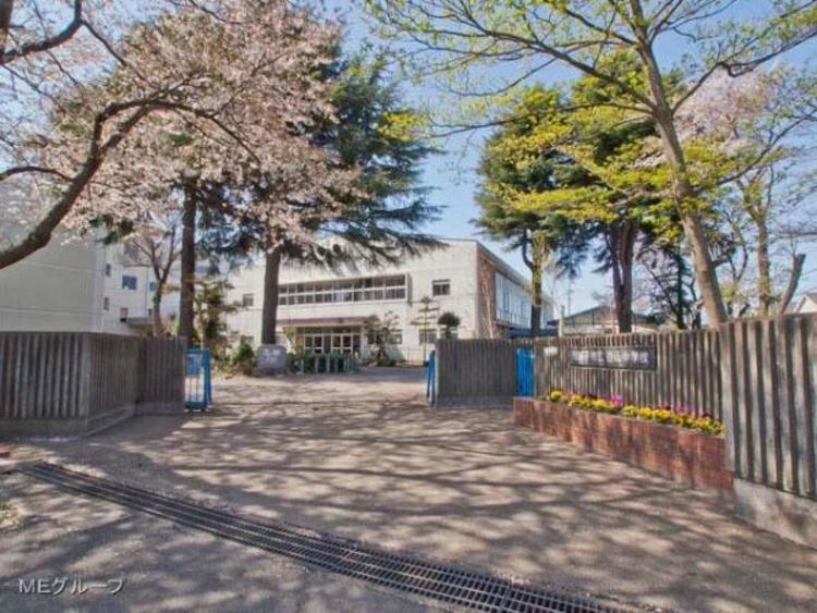 我孫子市立白山中学校680m