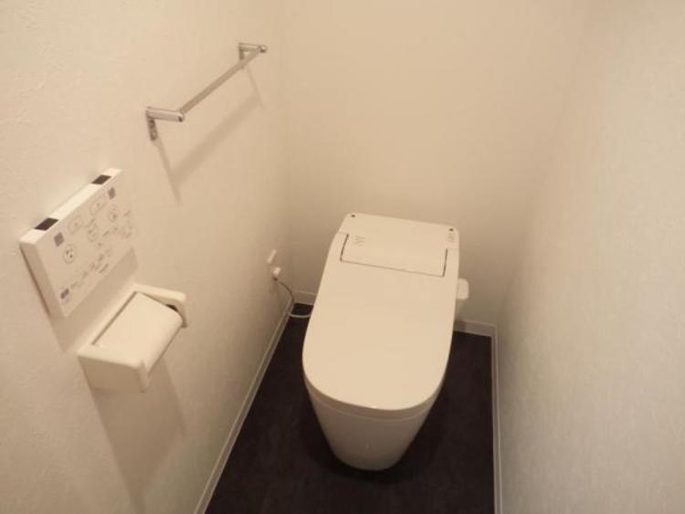 〇お掃除ラクラクのタンクレストイレです!