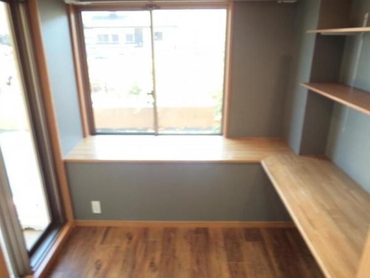 〇キッチン横にはママの家事スペースとしても使える空間があります!