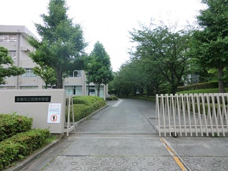 青陵中学校 764m