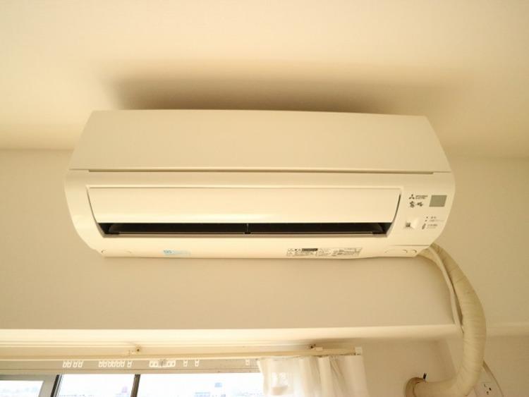 快適に生活していただく為に、エアコンを設置。