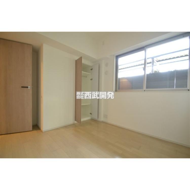 各部屋には広々とした収納スペース。使わない荷物をしっかりと仕舞えるので、住空間を有効に活用することが出来ます。