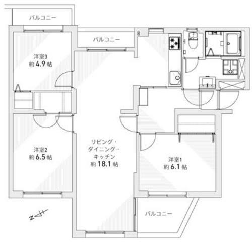 秋津第一団地第壱-弐-四号棟の画像
