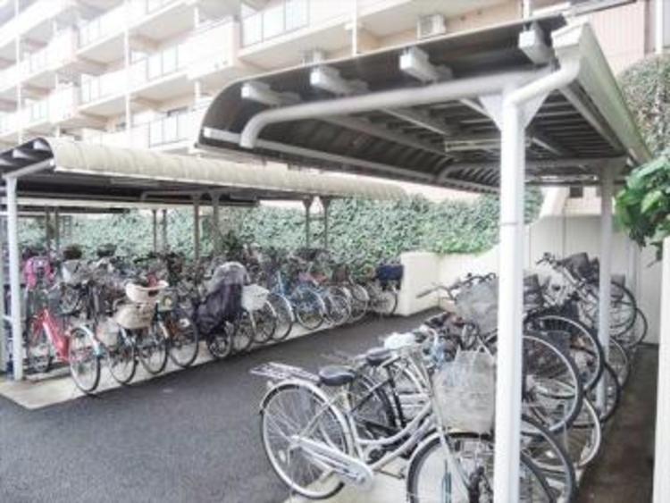 住居者専用駐輪場。