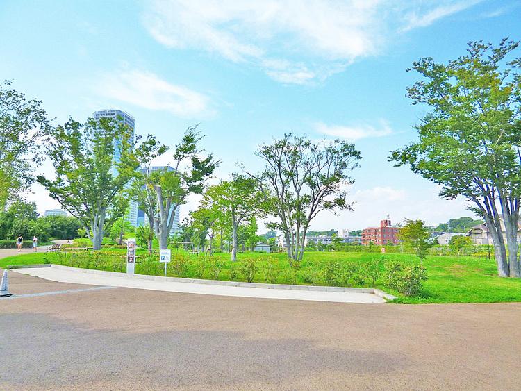 二子玉川公園 距離550m