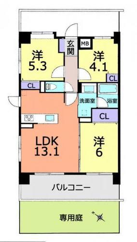 レーベンハイム武蔵浦和の物件画像
