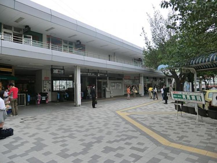 鷺沼駅 2400m
