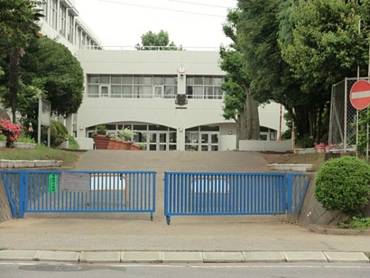 柏市立大津ケ丘中学校 662m