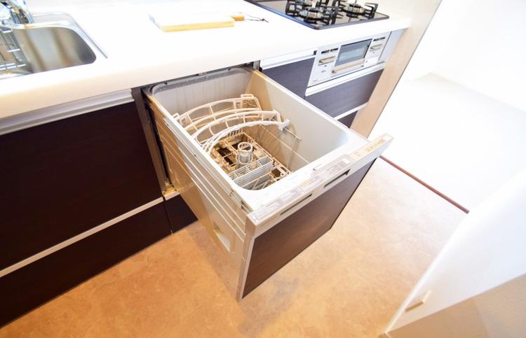 嬉しい食洗機つきのキッチン
