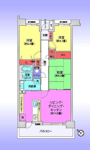 武蔵浦和パーク・ホームズサザンコートの物件画像