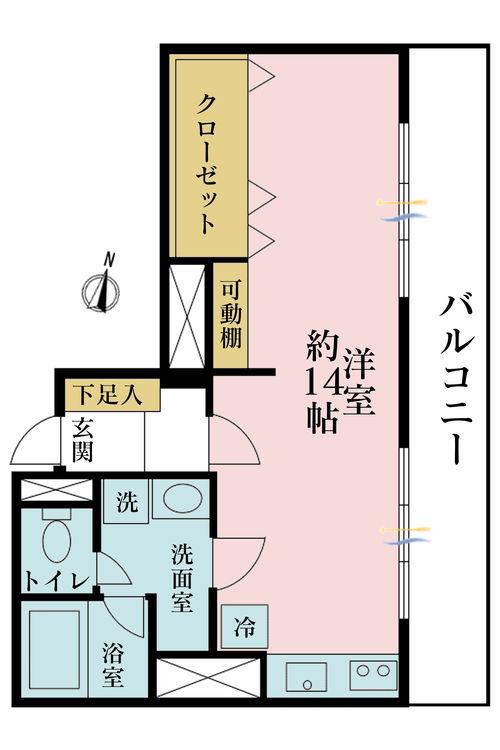 価格3790万円、専有面積37.47m2、バルコニー面積10.8m2