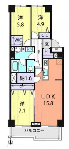 ルジェンテ・リベル志木壱番館の画像