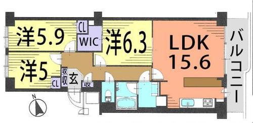 コーヅ関町スカイハイツ1号棟の画像