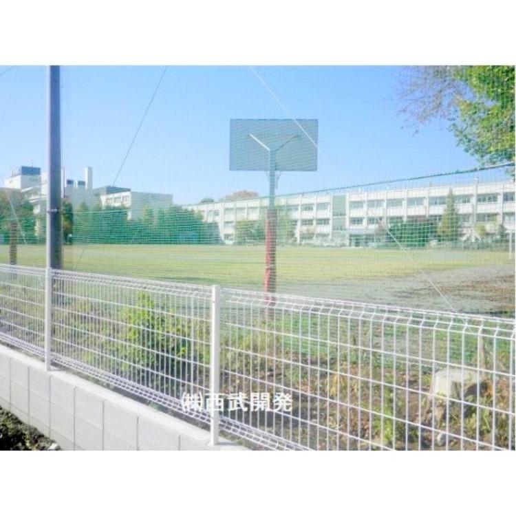 第三中学校(約850m)