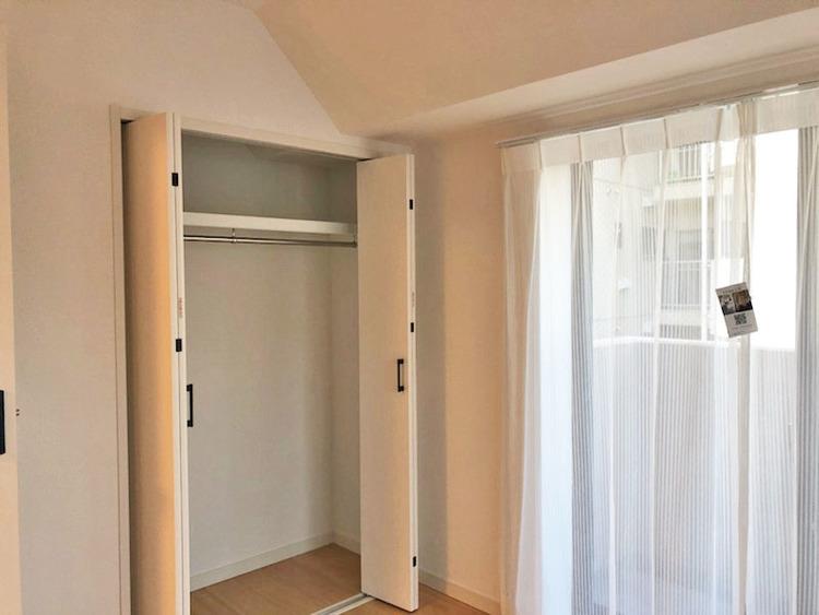 6.5帖洋室 収納部分 各居室収納つきです◎