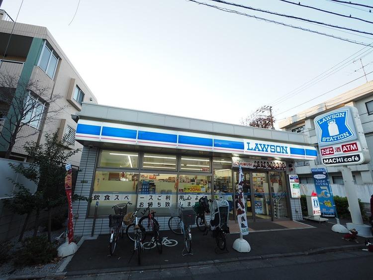 ローソン 世田谷桜新町二丁目店 距離400m