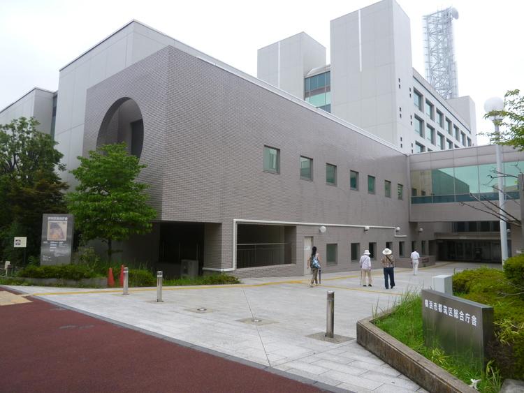 横浜市 都筑区役所 距離1300m