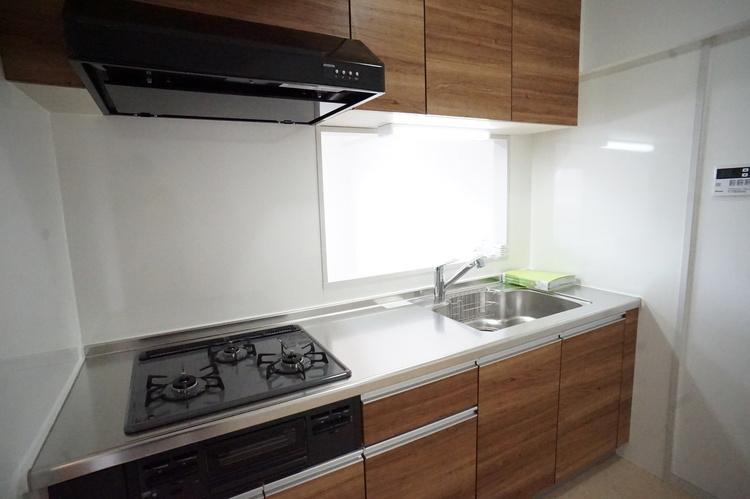 システムキッチン新規交換済み!気持ちよくお料理が楽しめます