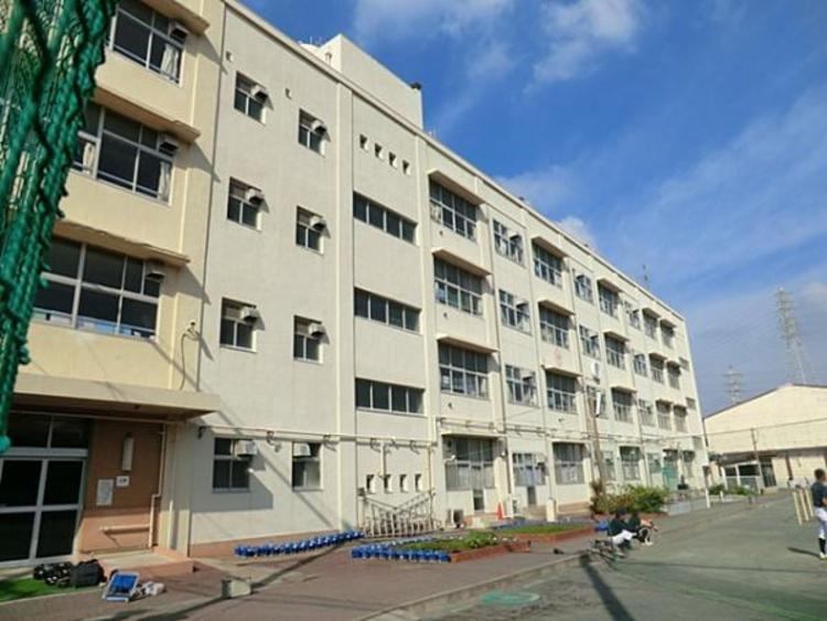 横浜市立矢部小学校 約1100m