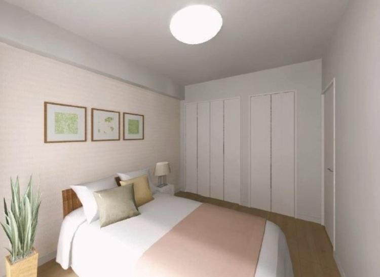主寝室にふさわしい洋室3には、豊富な収納を設置。室内を広く活躍することができます