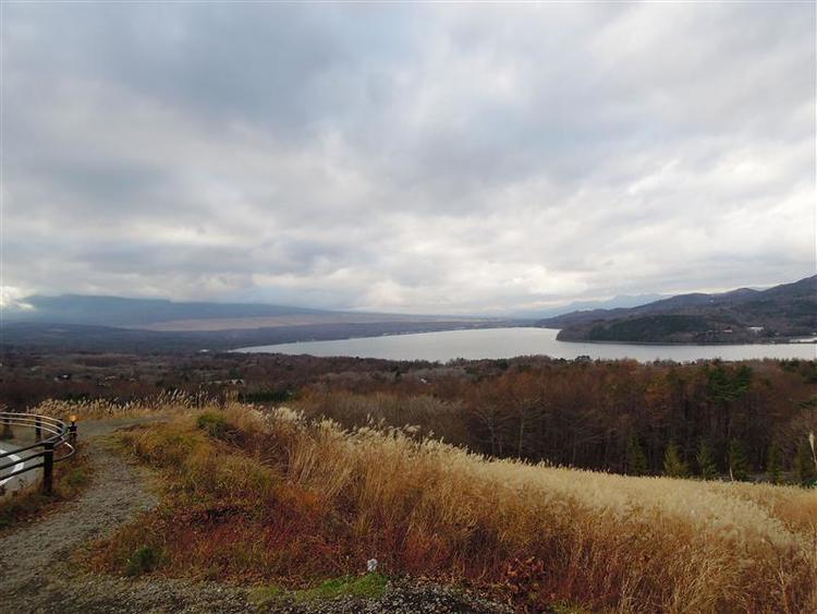 山中湖芙蓉台エリアの眺望です!