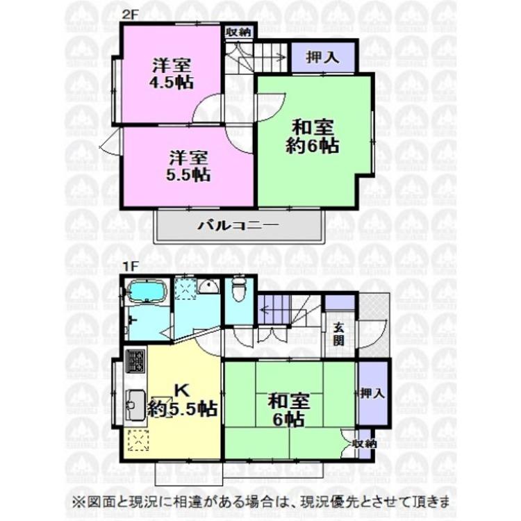 2F全室二面採光の明るいご住宅です!