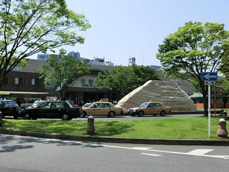 東武鉄道草加駅640m