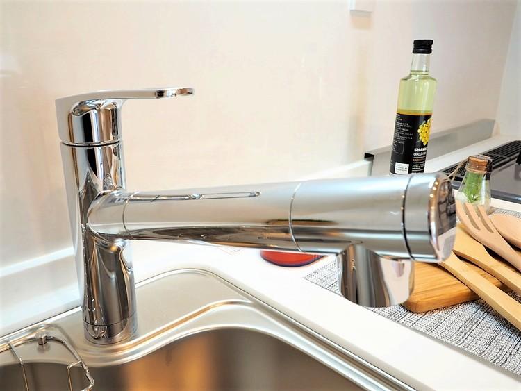 浄水機付きののシステムキッチンでお料理も楽しくなりますね