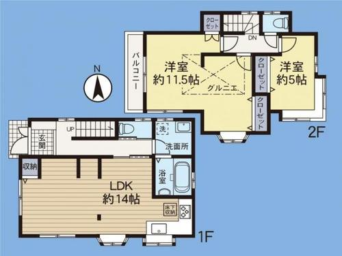 「相武台下」駅 歩6分 座間市座間1丁目の物件画像