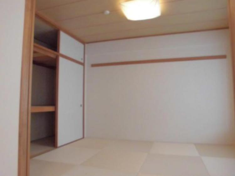 ●ほっと一息つける和室は6帖!奥様の家事スペースとしても大活躍ですね!