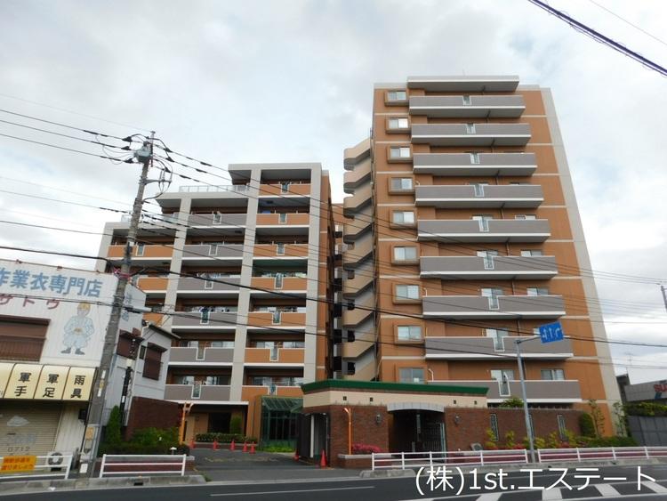 京浜東北線「蕨」駅から徒歩17分 10階建7階部分 南向き