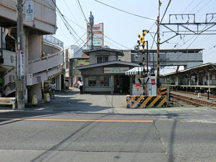 東武鉄道愛宕駅 880m