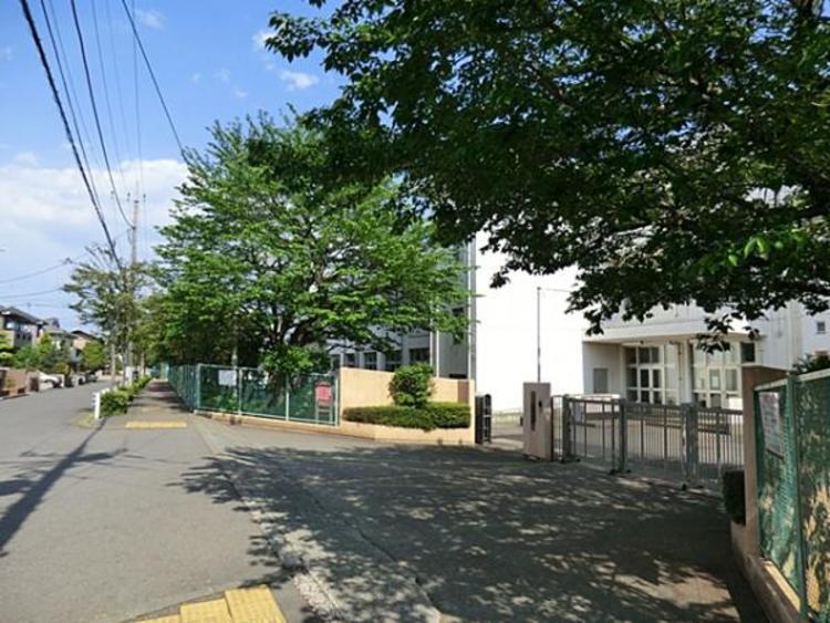 石川中学校 300m