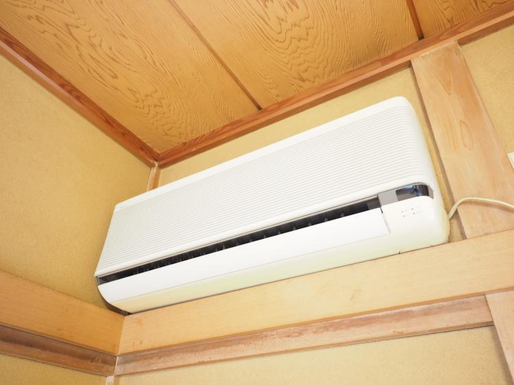 2台のエアコンも設置されてます!