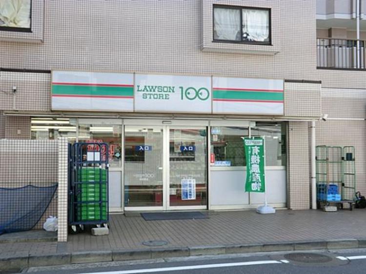 ローソンストア100高田東店