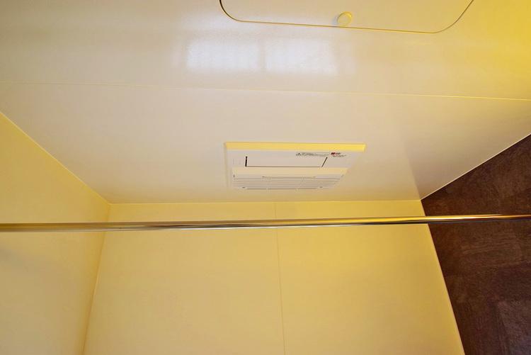 嬉しい浴室乾燥暖房機つきです◎