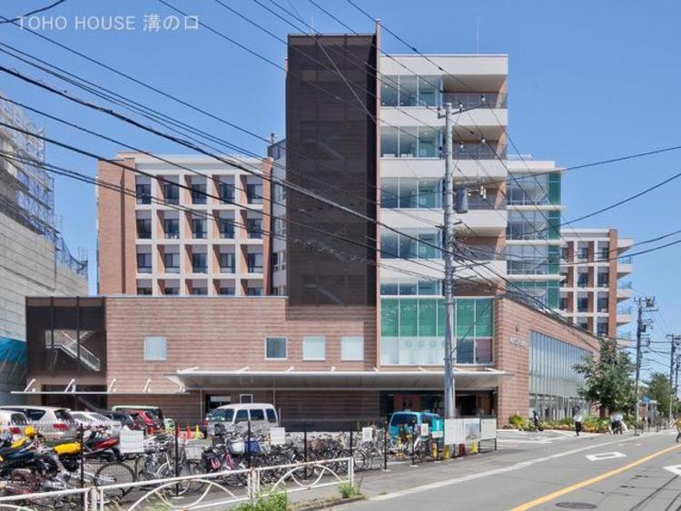 川崎市立井田病院 距離650m